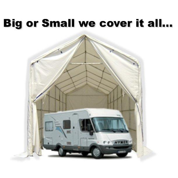 Camper & Caravan tält Titanium 3,50 x 8,00 x 3 x 4