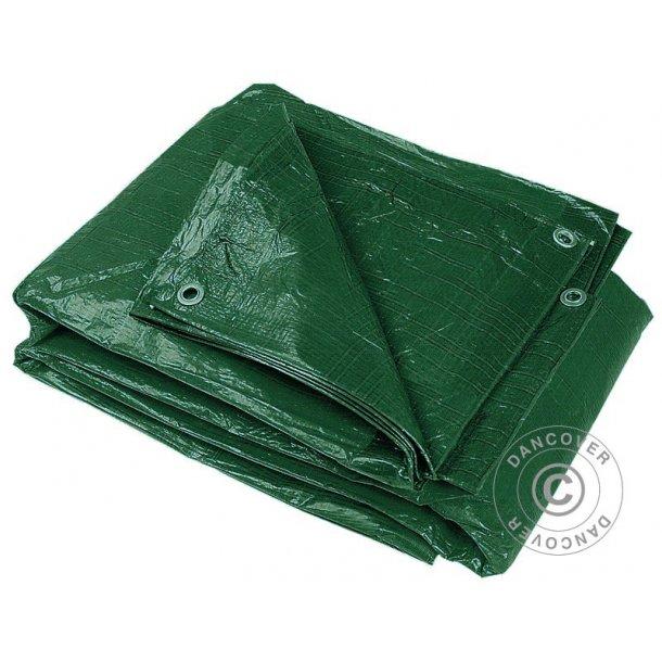 Presenningar 5 x 8 m grön (2 pack)