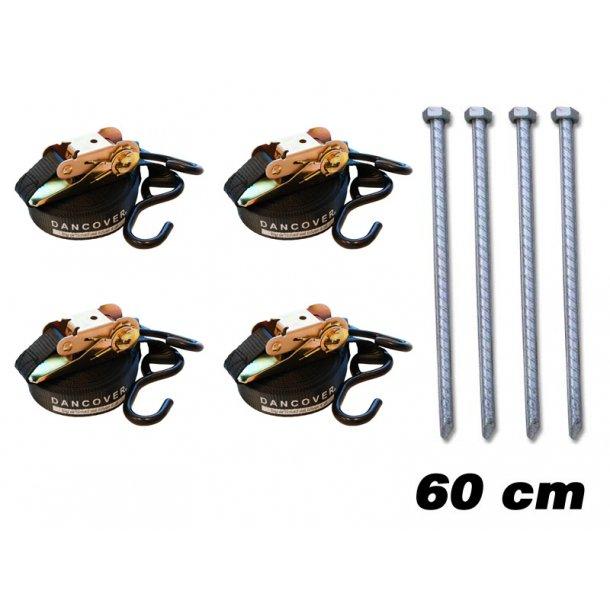 Safetypack 4-60 (jordspett 60 cm & stormlinor)